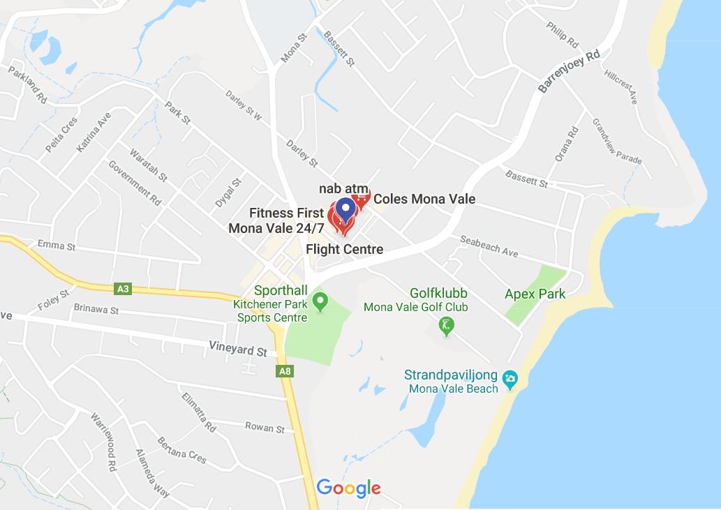 Google map Australia office