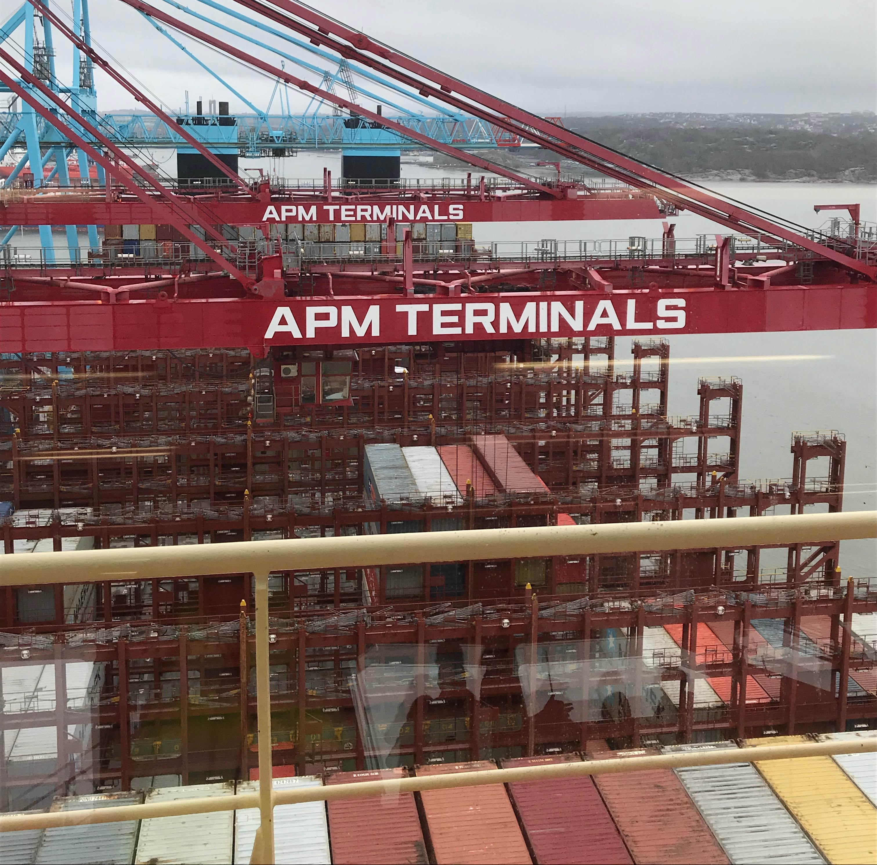 Visiting one of the biggest Maersk vessels - CellMark