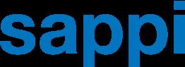 Sappi logo in blue font color.