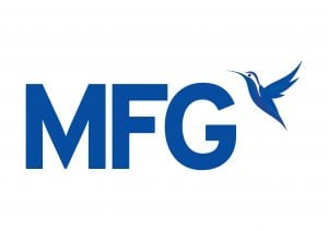 blue mfg logo