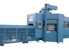 a blue molding equipment