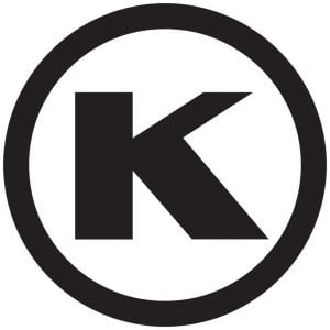black ok kocher logotype