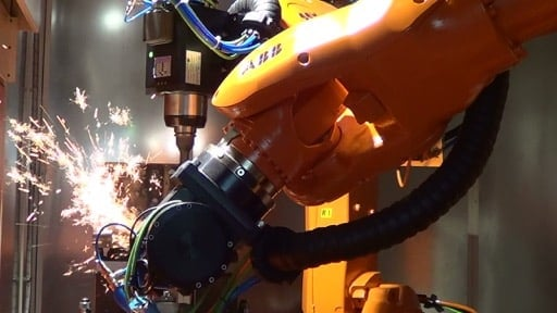 robot grinding