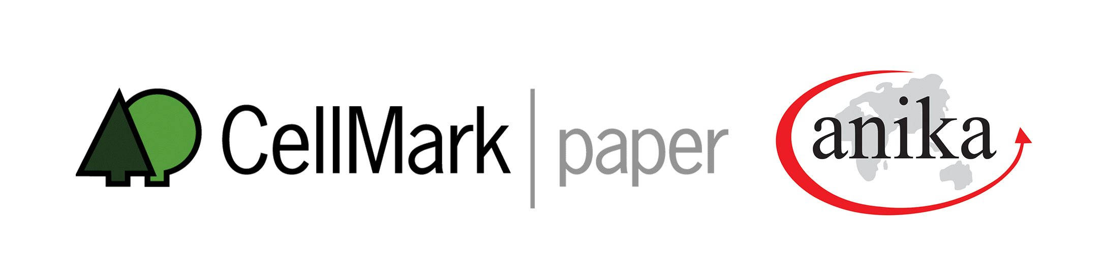cellmark paper and anika international logos side by side