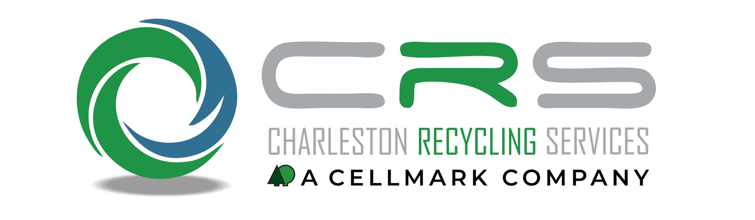charleston recycling services logo on white background