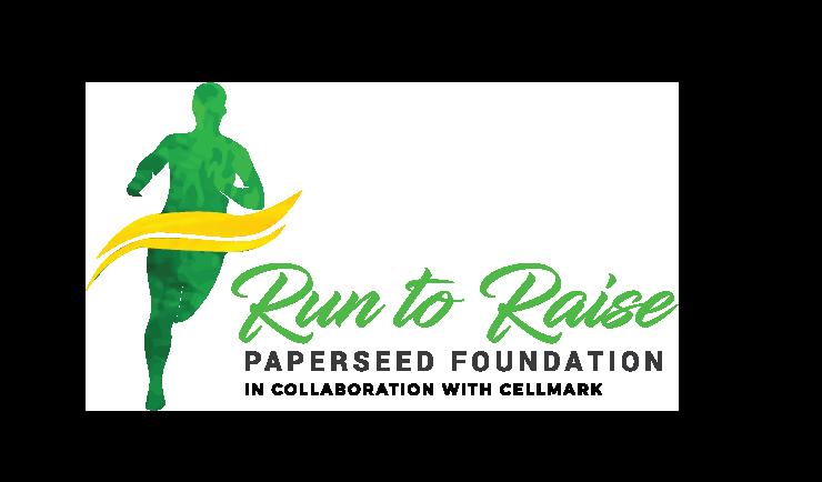run to raise green logo 2021